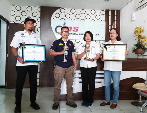 PT DMS Raih 2 Penghargaan Sekaligus Tingkat Nasional dari Kemenhub